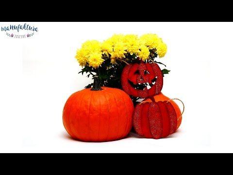 Dynie na Halloween – Manufaktura Justyny – artykuły do rękodzieła i ozdoby hand made