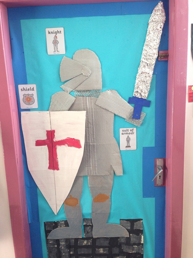 A knight to guard our classroom.
