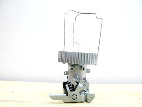 Pierrot - carborador/roldana/luz/candeeiro/reutilizar/design/decor/lights/reuse/carburetor