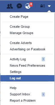 Facebook facilitates its users with a secure online portal through which one can connect with their family and friends and enjoy social networking. You can log out of your account whenever you wish from a PC or MAC device. Using Facebook you can share photos, videos and check out what's going on in your dear one's life.