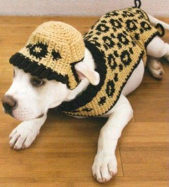 crochet dog booties patterns   Dog Crochet Patterns Leash Booties Collar Bed Sweaters - bidStart ...