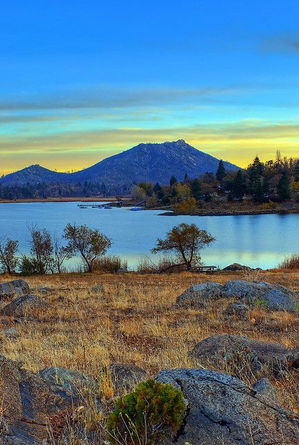 I miss this place! Dale and I spent a lot of time up here after the accident!  Lake Cuyamaca, California