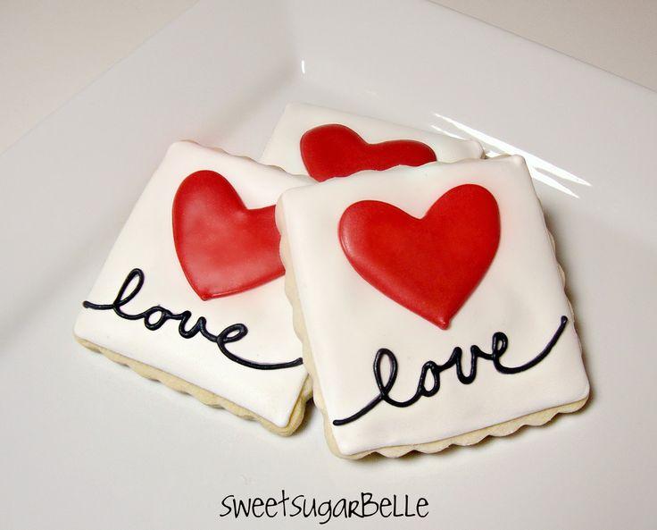 Best Valentines Decorated Cookies