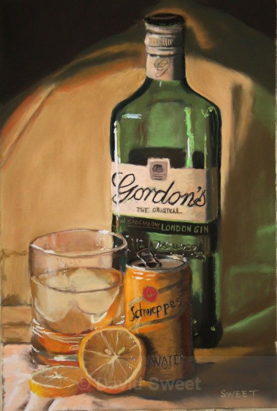Gordon's and Schweppes - Paintings