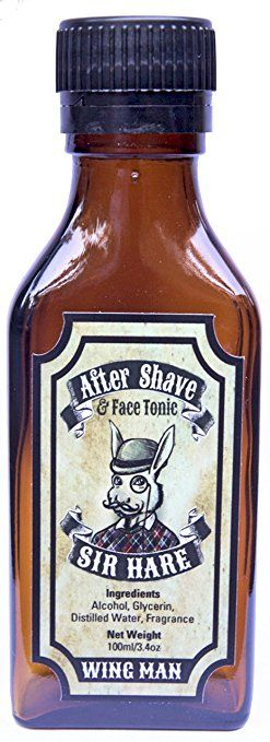 Sir Hare Aftershave Cologne Splash (Wing Man fragrance) – helps reduce razor bumps, soothes skin, and… Review