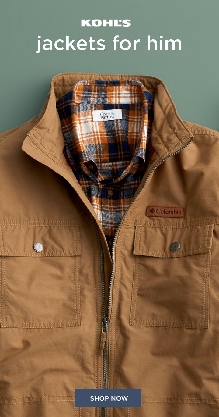 Post Copy Shop The Latest In Men S Outerwear And Jackets At Kohl S Cooler Weather Definitely Men S Coats And Jackets Mens Clothing Styles Mens Fashion Casual [ 1368 x 720 Pixel ]