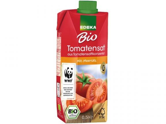Rach getestet, von EAT SMARTER empfohlen: Christian Rach empfiehlt den Edeka Bio Tomatensaft