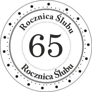 Digi stemple by AliceCreations: 09. 65 Rocznica Ślubu