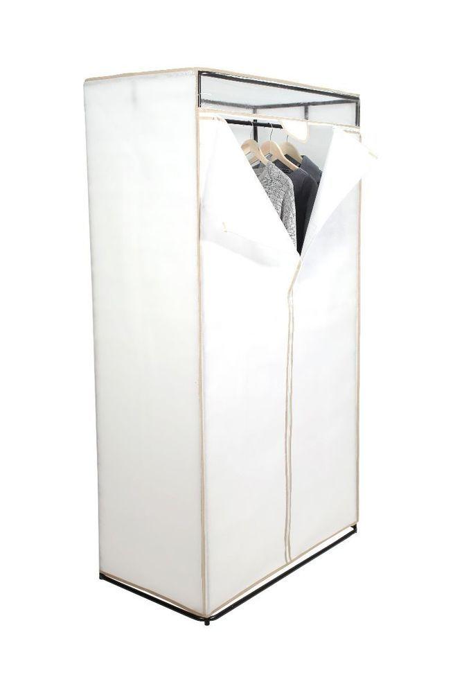 "Tidy Living - All Metal 36"" Closet - Portable Clothes Rack Storage Wardrobe  #TidyLiving"
