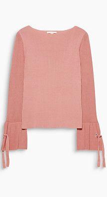 #Esprit Damen Pullover mit Trendärmeln, 100% Baumwolle, Gr. XXL, pink, 4059602355694
