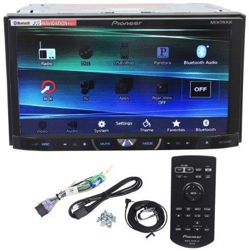"""Pioneer AVH-X4600BT 7"""" Double Din Car Stereo Receiver Bluetooth, Siri """"Eyes-Free"""", APP Radio Mode, Pandora, iPhone/iPod/Android Compatible, USB/AUX Input and Wireless Remote Control - http://shop.caraccessoriesonlinemarket.com/pioneer-avh-x4600bt-7-double-din-car-stereo-receiver-bluetooth-siri-eyes-free-app-radio-mode-pandora-iphoneipodandroid-compatible-usbaux-input-and-wireless-remote-control/"""