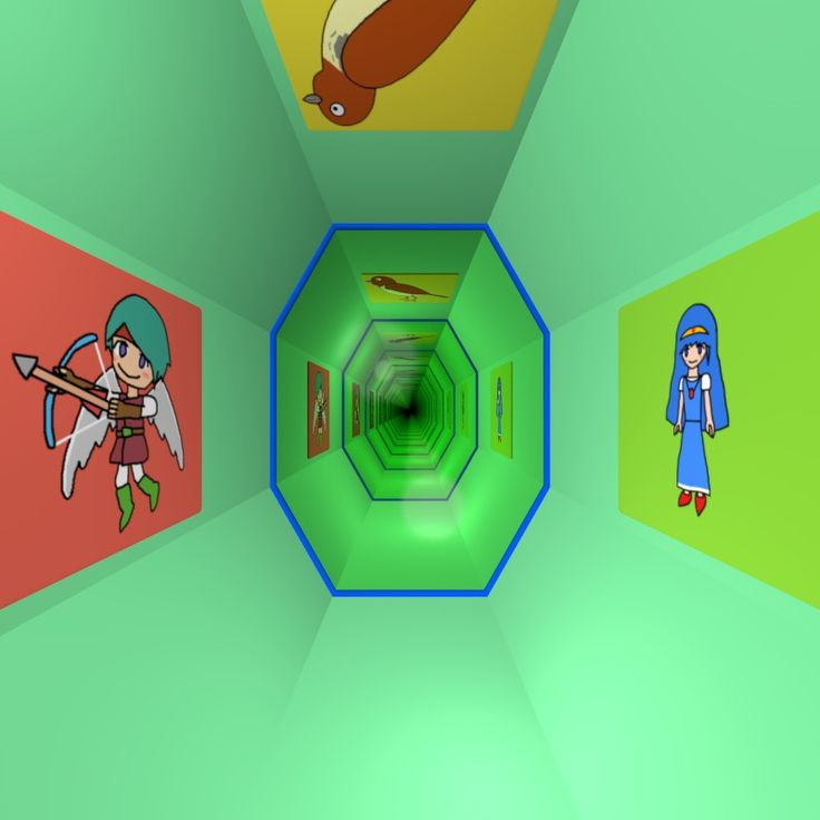Infinity Mirror Room / #Octagon