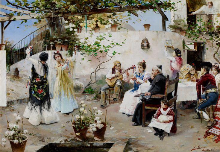 Un baile para el señor cura - Juan García Ramos (c. 1890)