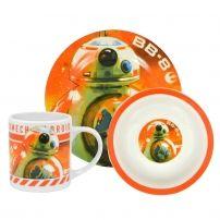 Zestaw śniadaniowy Star Wars z motywem BB-8  #zestawśniadaniowy #bb-8 #gwiezdnewojny