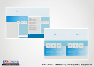 A4-Brochure Template for Business, College, School, Corporate Template     A4-Brochure Templat...
