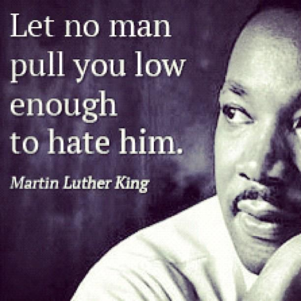 Like I said hate is a strong word so you have to be worthy to occupy that much…