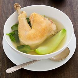 Chicken Tinola, Filipino chicken soup.