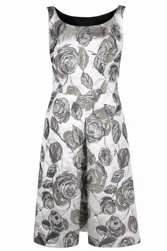 New Collection, Sukienka z żakardowej tkaniny - Wiosna - Lato 2015 - Sklep Caterina Online, https://sklep.caterina.pl