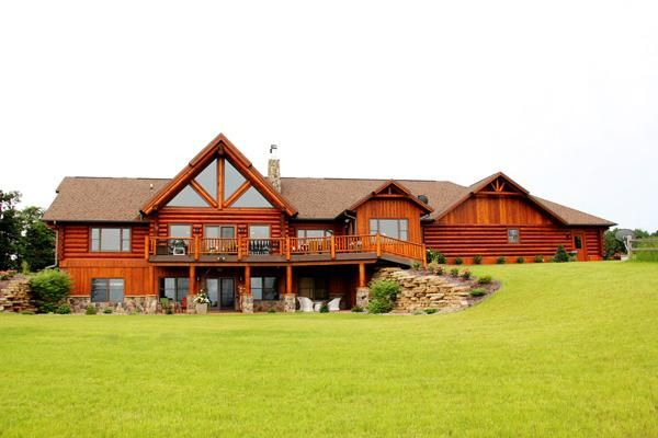 17 best images about real log homes on pinterest montana for Cabin builders montana