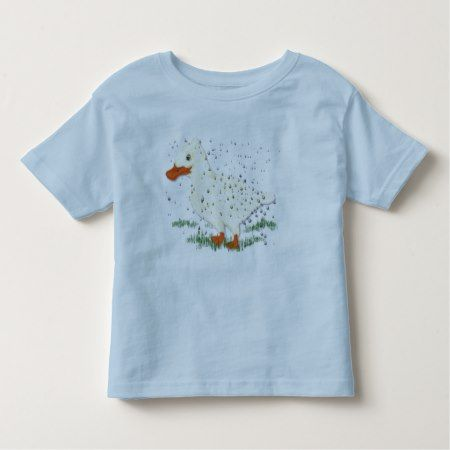 Like water off a duck's back toddler t-shirt - tap to personalize and get yours