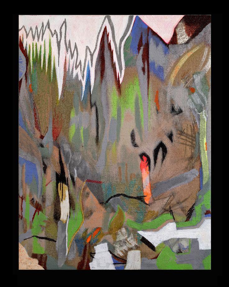 Silk Square Scarf - Abstract painting no.124 by VIDA VIDA 4qRExVWJk