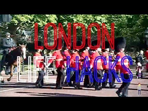 London Life Hacks - tips and tricks for any travellers visiting London, England #YouTube #vlog