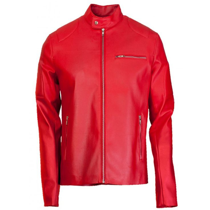 1000  ideas about Red Leather Jacket Men on Pinterest | River