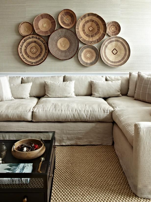 12 Unique Ways To Fill The Space Above Your Sofa Room Decor Living Room Wall Home Decor