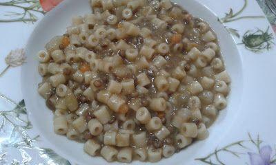 La cucina di nonna papera: Pasta e lenticchie