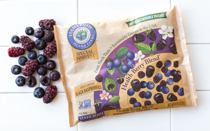 Stahlbush Island Farms Frozen Health Berry Blend