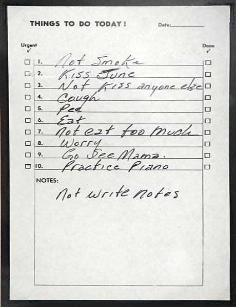 the king of lists and so much more. #johnnycash