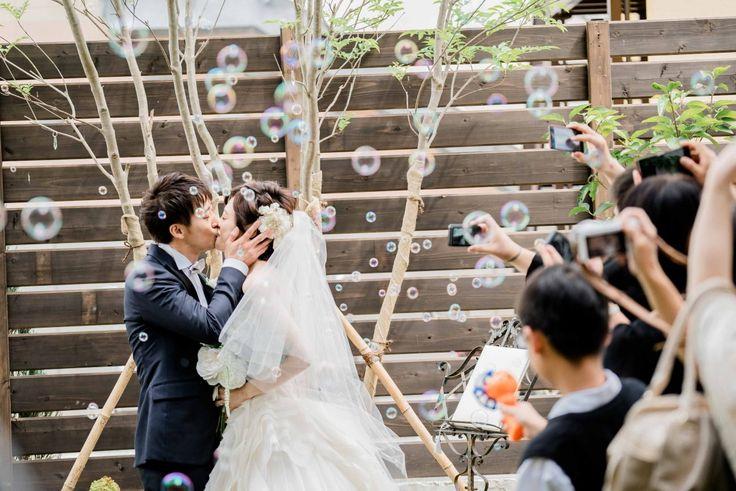 Photography: Umore Wedding  #京都 #ウエディング #結婚式 #ファーストキス