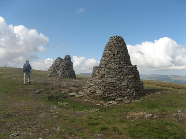 Nine Standards Rigg - Great Walks. Pic: Jim Baker.