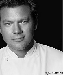 Chef Tyler Florence. Tyler is a chef and television host of several Food Network and the Cooking Channel shows. His recipes are amazing!