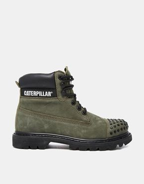 Caterpillar+Coloarado+Metal+Grape+Lace+Up+Chunky+Ankle+Boots