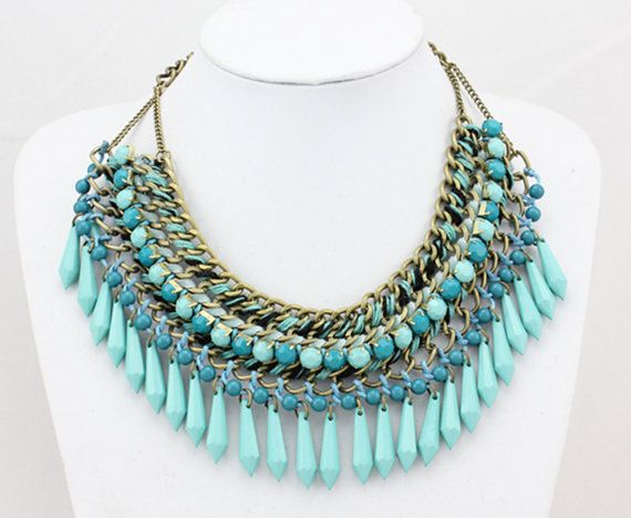 Collier plastron Collier surdimensionné Bib Collier par Necklace21