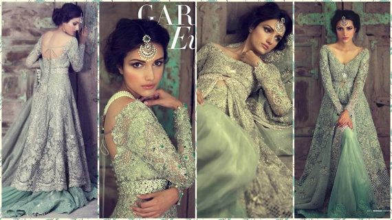 Paquistaní nupcial vestido-Elan jardín de por KaamdaniCouture