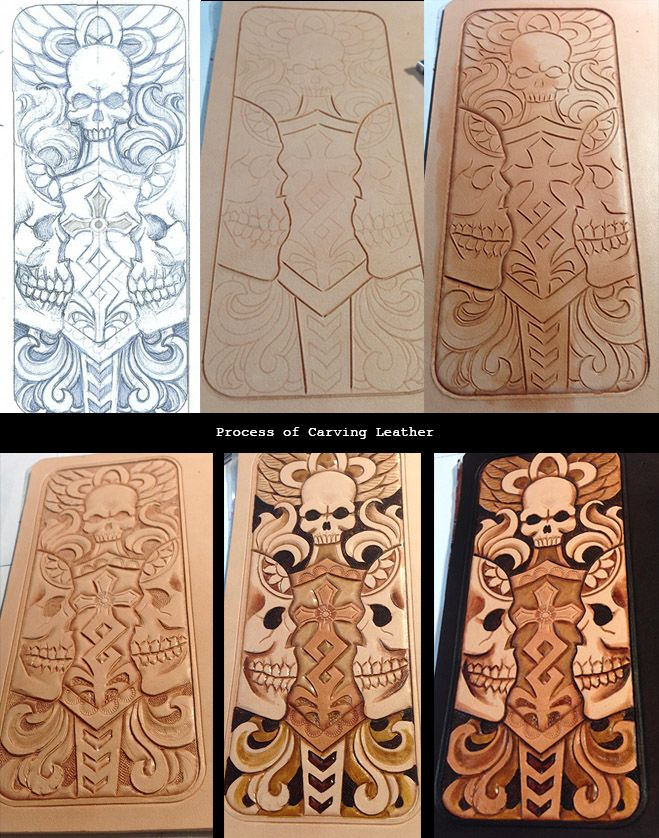 Best images about leather cutting and carving patterns