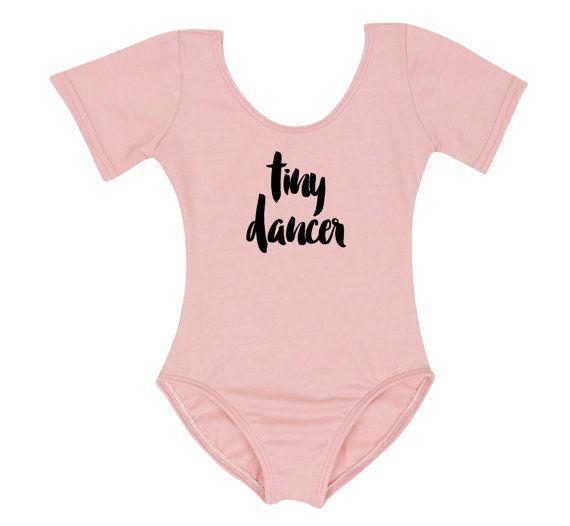 Toddler Girl Leotard  Pink Tiny Dancer 4T by SpunkyStork on Etsy