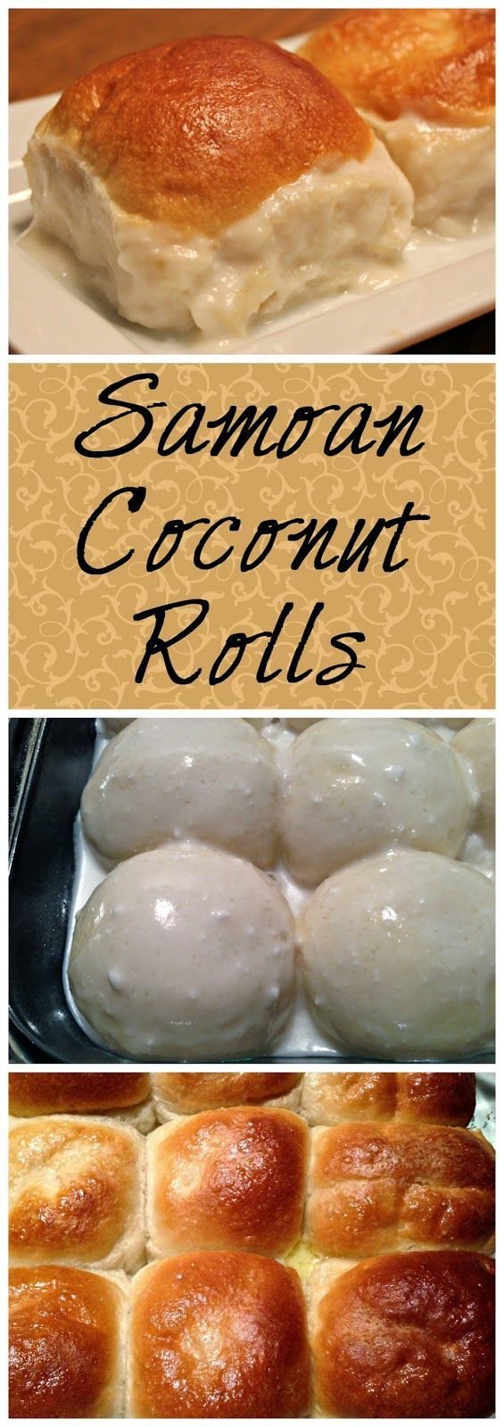 Samoan Coconut Rolls (Pani Popo)   These sweet coconut rolls are absolutely delicious! Perfect for Easter too.