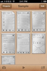 POP app: Create rapid prototypes on mobile! Easiest and best experience ever!