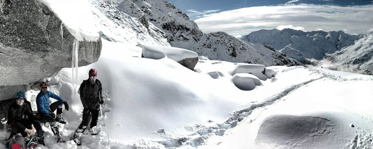 Hochalmspitze, Alps, climbing in Austria, Mountain