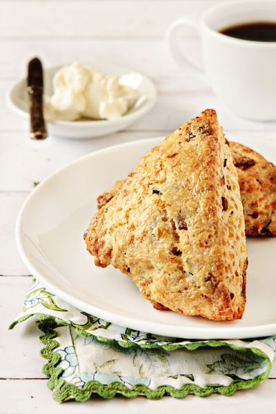 Bacon and Cheddar Cheese Scones