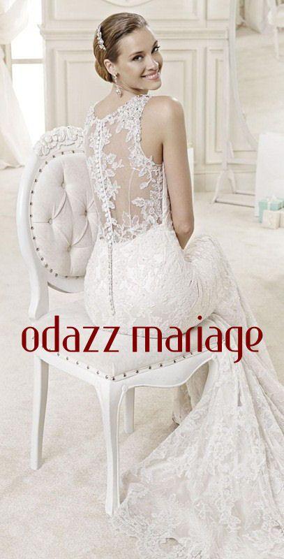 jolie mariée avec peigne coiffure mariage