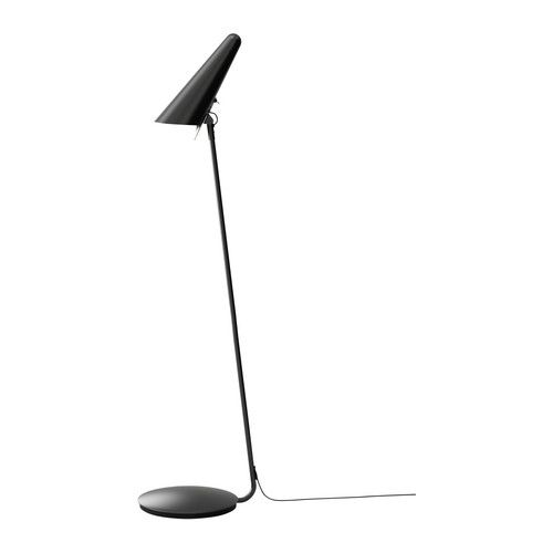 IKEA STOCKHOLM LED floor/read lamp IKEA Directed light; gives a good concentrated beam of light for reading.
