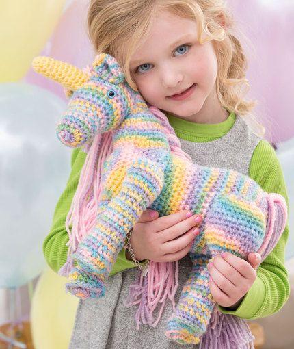 Unicorn Free Crochet Pattern