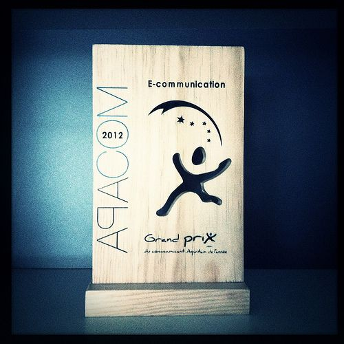 Prix Apacom - E-communication pour l'application Flash Label
