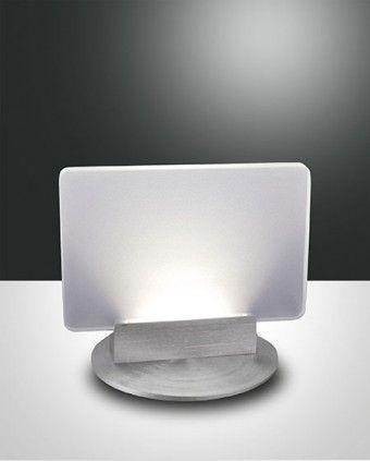 Fabas Luce Betty LED Tischleuchte aluminium