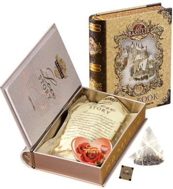A book of tea!! Pure Ceylon Tea - Basilur Tea Sri Lanka - Tea Collection