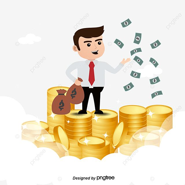 Happy Businessman With Money Vector Businessman Clipart Money Clipart The Man Png And Vector With Transparent Background For Free Download Background Banner Prints For Sale Character Illustration